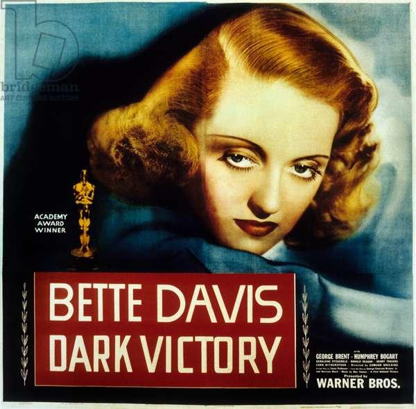 Victoire sur la Nuit DARK VICTORY de EdmundGoulding avec Bette Davis, 1939