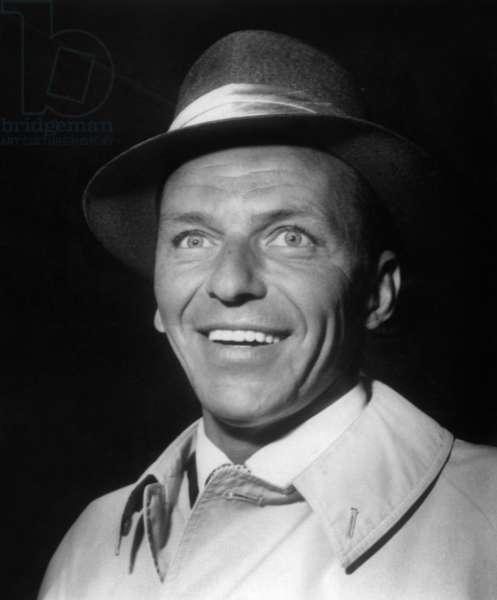 Frank Sinatra on June 3, 1958