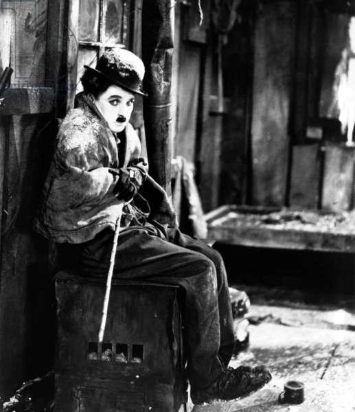 La Ruee vers l'Or The Gold Rush de Charles Chaplin avec Charlie Chaplin, en 1925