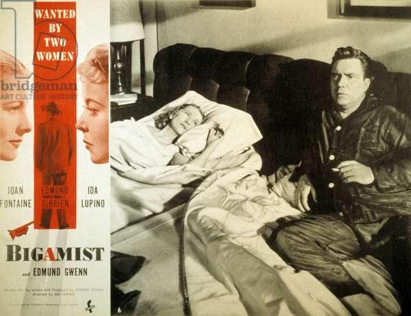 The bigamist de Ida Lupino avec Ida Lupino et Edmond O'Brien 1953