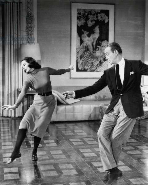 La belle de Moscou SILK STOCKINGS de RoubenMamoulian avec Cyd Charisse, Fred Astaire, 1957