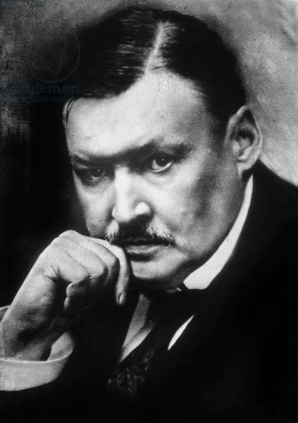 Alexander Glazunov (1865-1936) russian composer c. 1920