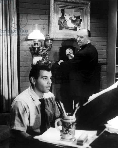 Fenetre sur cour Rear Window de AlfredHitchcock 1954 apparition de Alfred Hitchcock