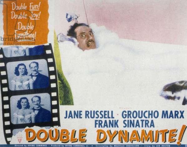 Une veine de... (DOUBLE DYNAMITE) de Irving Cummings avec Frank Sinatra, Jane Russell et Groucho Marx, 1951