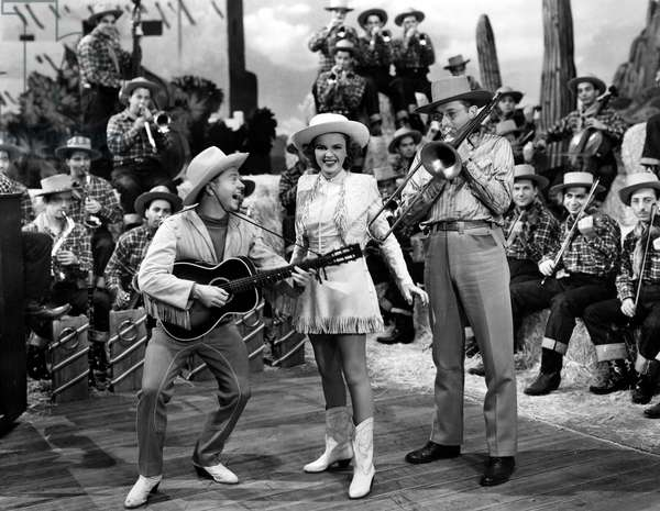Girl Crazy de NormanTaurog et BusbyBerkeley avec Mickey Rooney, Judy Garland et Tommy Dorsey, 1943