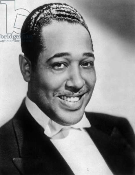Duke Ellington (1899-1974) American jazz composer and pianist c. 1937