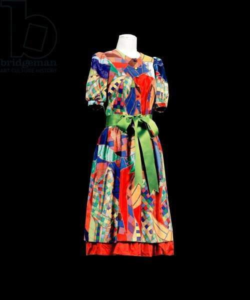 Robe ensemble haute couture Yves Saint Laurent collection Printemps Ete 1969
