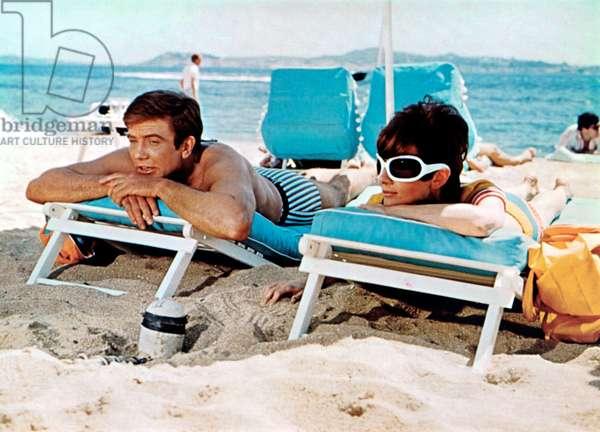 Voyage a deux Two for the Road de StanleyDonen avec Albert Finney et Audrey Hepburn 1967