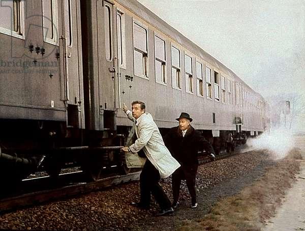 Un soir, un train, by André Delvaux, 1968 (film still)