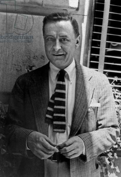 Francis Scott Fitzgerald (1896-1940) American writer here c. 1937 Photo by Carl Van Vechten