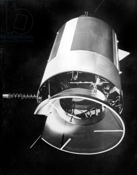 the Gemini IX space capsule, June 1966 (Gemini project)
