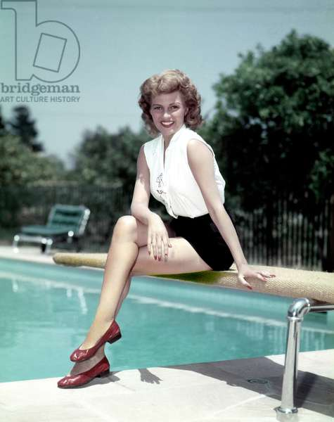 American Actress Rita Hayworth (1918-1987) c. 1953