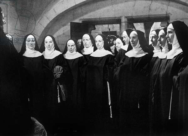 Le dialogue des Carmelites (The Carmelites), directed by Philippe Agostini and Raymond Leopold Bruckberger, 1960 (film still)