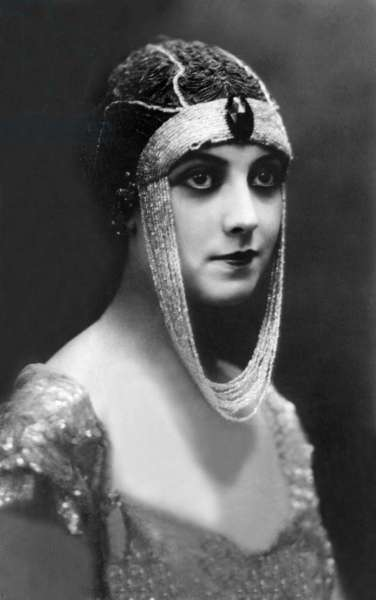Actress Musidora pseudonym of Jeanne Roques (1884-1957) in 1919