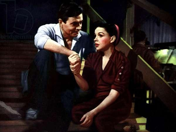 Une Etoile est nee A Star is Born de GeorgeCukor avec James Mason et Judy Garland 1954