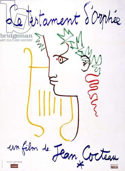 Poster pour «Le testament d'Orphee», 1959 (couleur litho)