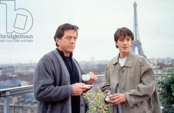 Mathiueru Simonet et Bernard Girodeau dans le film La poursuite du vent de NinaCompan¿ez 1998