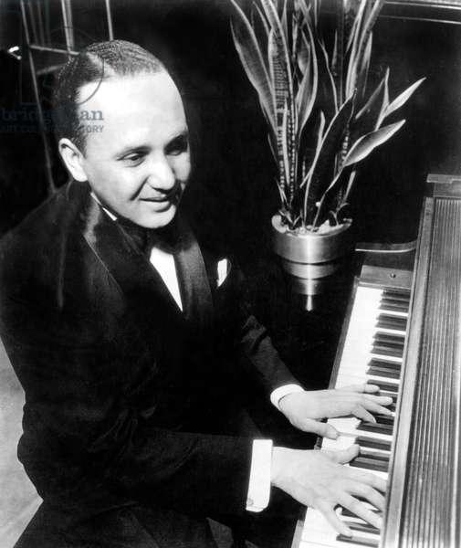 Fletcher Henderson (1898-1952) American jazzman c. 1935