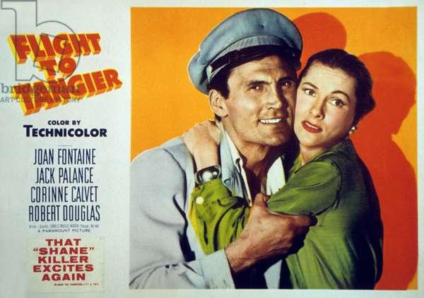 Vol sur Tanger Flight to Tangier de CharlesMarquisWarren avec Joan Fontaine et Jack Palance 1953