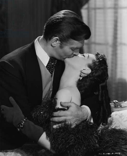 Autant en emporte le vent GONE WITH THE WIND de VictorFleming avec Vivien Leigh (Scarlett O'Hara) et Clark Gable,1939