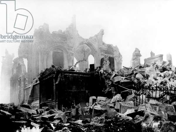 Allied bombings on Rouen (Normandy) May 1944