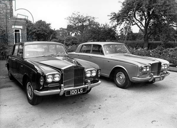 new Rolls Royce and Bentley model October 05, 1965