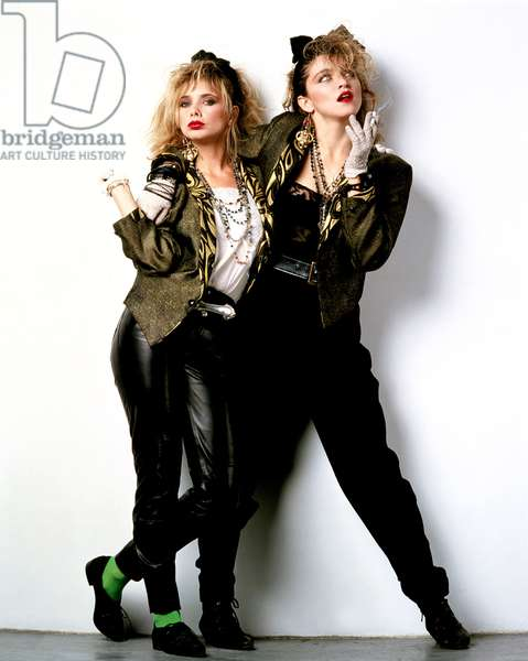 Rosanna Arquette and Madonna in 'Desperately Seeking Susan', 1985 (photo)