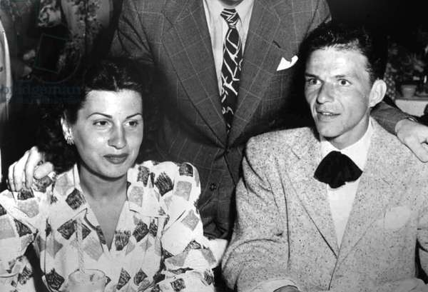 Frank Sinatra and his wife Nancy c. 1947