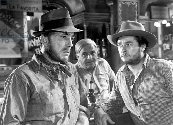 Le tresor de la Sierra Madre THE TREASURE OF THE SIERRA MADRE de JohnHuston avec Humphrey Bogart, Tim Holt, 1948