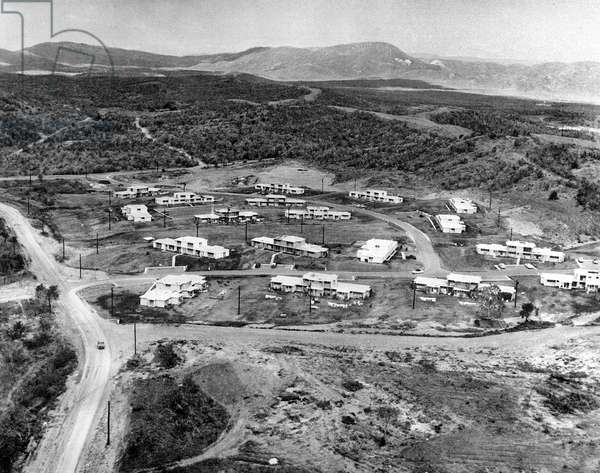 American base at Guantanamo Cuba April 13, 1961 a few days before the operation of Bay of Pigs Playa at the time of the missiles crisis