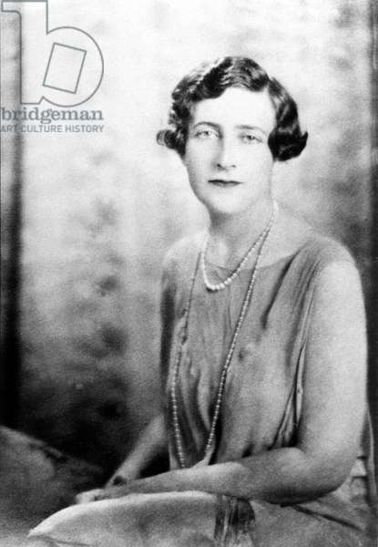 English novelist Agatha Christie (1891-1976) c. 1925
