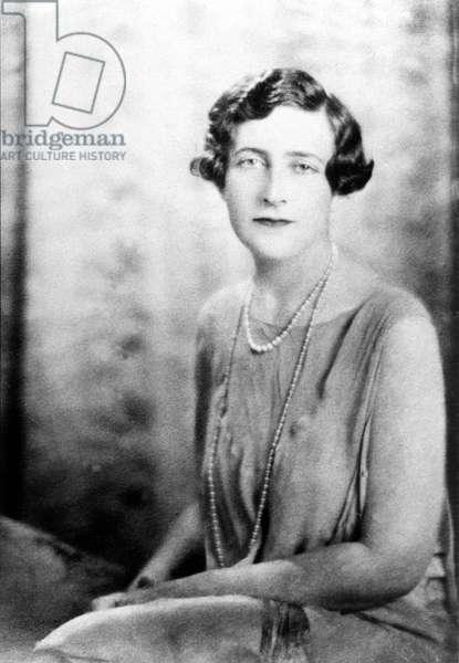English novelist Agatha Christie (1891-1976) c. 1925
