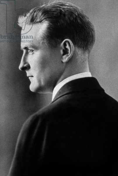 Francis Scott Fitzgerald (1896-1940) American writer c. 1936