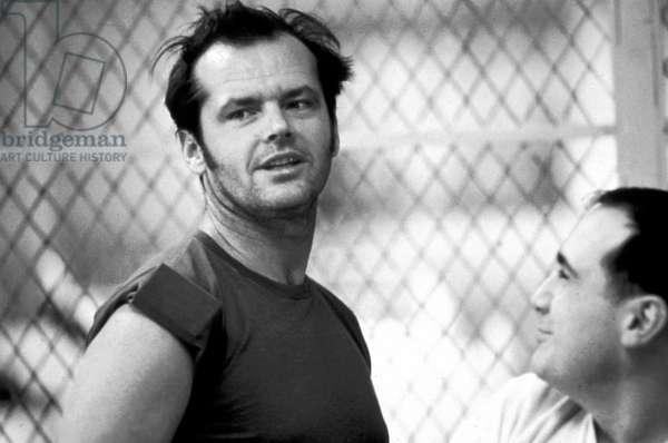 Vol au dessus d'un nid de coucou One Flew over the Cuckoo 's nest de MilosForman avec Jack Nicholson 1975 Oscar1975