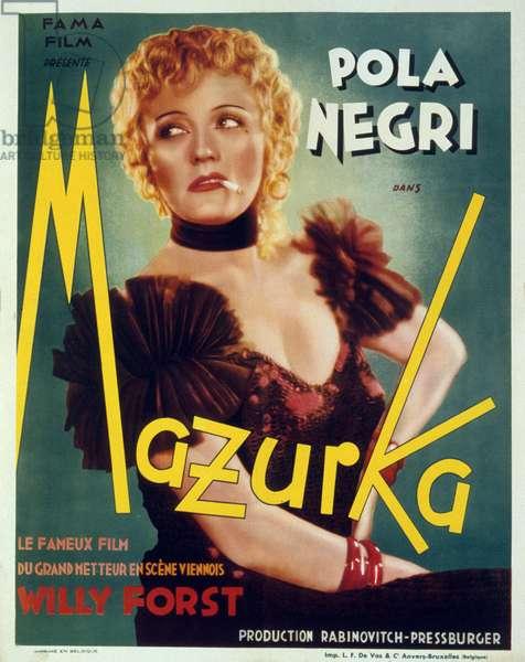 Mazurka de WilliForst avec Pola Negri 1935