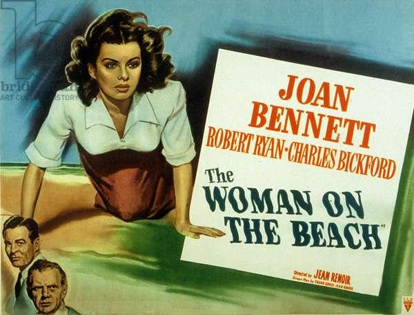La femme sur la plage The Woman on the Beach de Jean Renoir avec Joan Bennett 1942