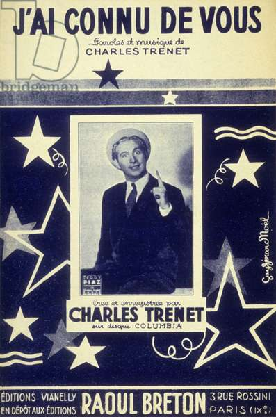 """Charles Trenet"""" I've known from you"""" Editions Raoul Breton. 1938"""