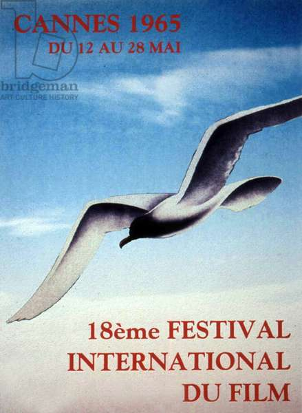 Poster of the 18th Cannes International Film Festival in 1965