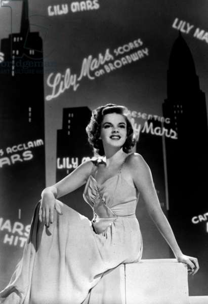 Lily Mars vedette Presenting Lily Mars de NormanTaurog avec Judy Garland 1943