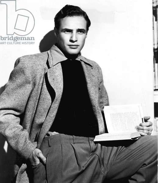 Actor Marlon Brando (1924-2004) c. 1952
