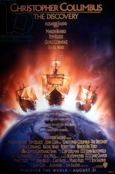 """Affiche du film """"Christopher Columbus the discovery"""" 1992 de JohnGlen"""