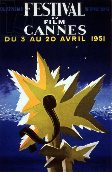 Poster of the 4th Cannes International Film Festival in 1951