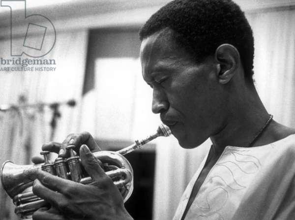 Don Cherry (1936-1995) jazz trumpet player, c. 1970