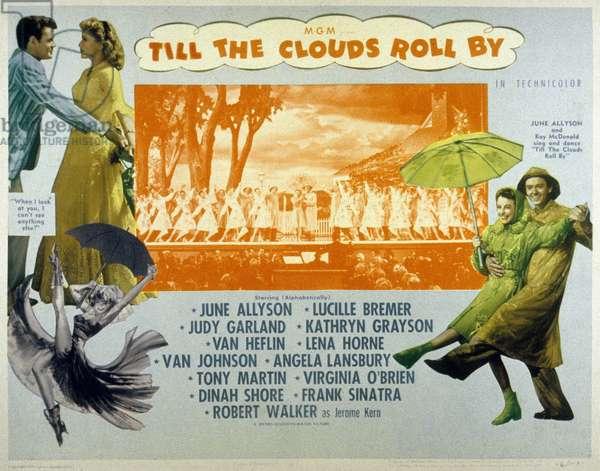 La Pluie qui chante TILL THE CLOUDS ROLL BY de RichardWhorf avec Lucille Bremer et Judy Garland, 1946