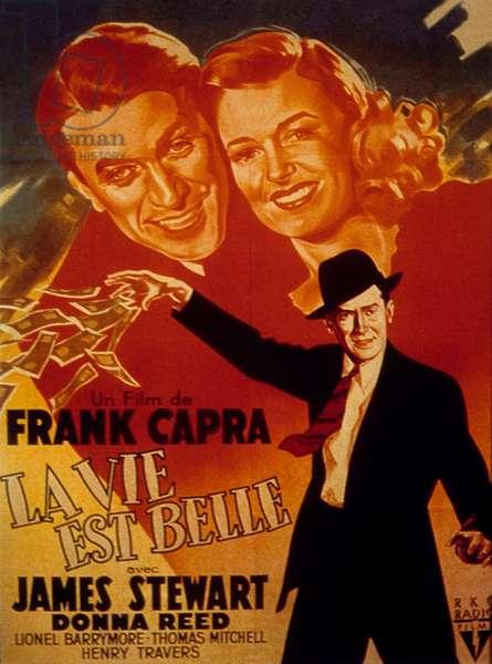 La vie est belle IT'S A WONDERFUL LIFE de Frank Capra avec James Stewart et Donna Reed 1946