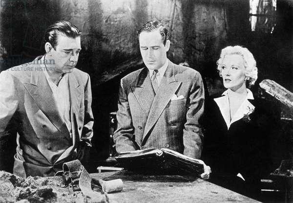 Frankenstein rencontre le loup garou (Frankenstein meets the wolf man) de Leslie Goodwins avec Ilona Massey, Patrick Knowles et Lon Chaney 1943