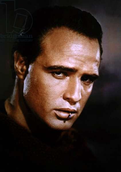 Actor Marlon Brando c. 1955