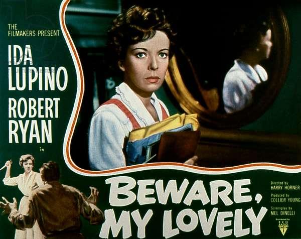 Beware my lovely de HarryHorner avec Ida Lupino 1952