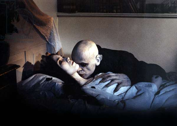 Nosferatu fantome de la nuit de WernerHerzog avec Isabelle Adjani et Klaus Kinski 1979