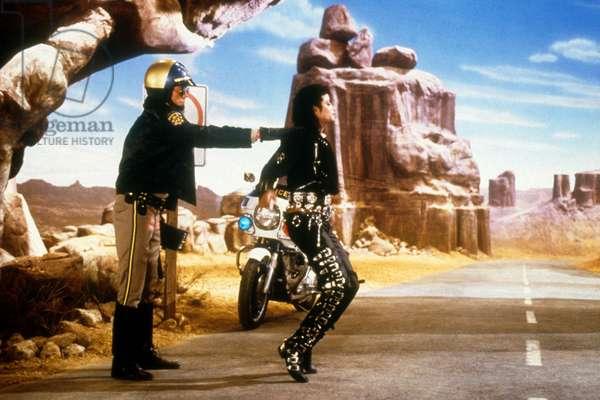Michael Jackson danse dans la vidéo MOONWALKER, 1988